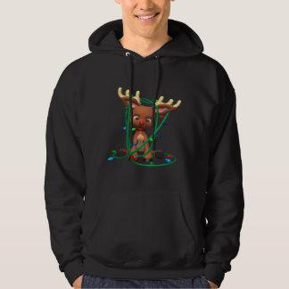 Rudolph enredó jersey encapuchado
