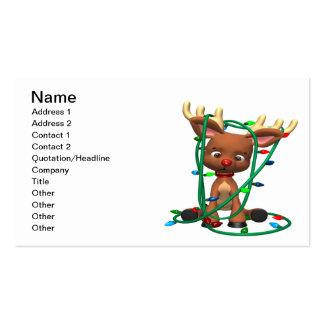 Rudolph enredó tarjetas de visita