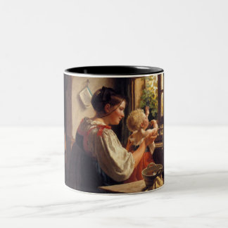 """Rudolph Epp _ First Look Out Of The Window"" Mug"