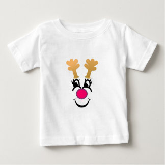 Rudolph Face Baby T-Shirt