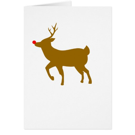 Rudolph Greeting Cards