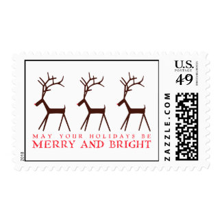 Rudolph Holiday Postage