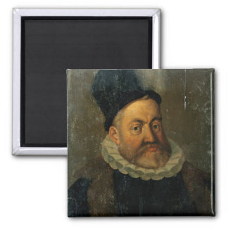 Rudolph II 2 Inch Square Magnet