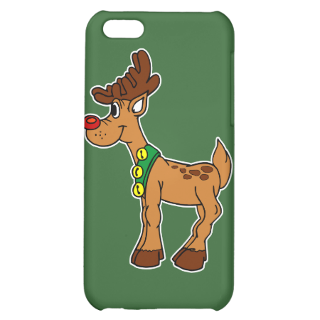 rudolph in bells cover for iPhone 5C