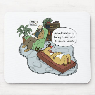 Rudolph in Therapy Mouse Pads