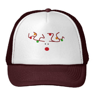 Rudolph Lights Trucker Hat