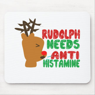 Rudolph necesita la histamina anti mouse pads