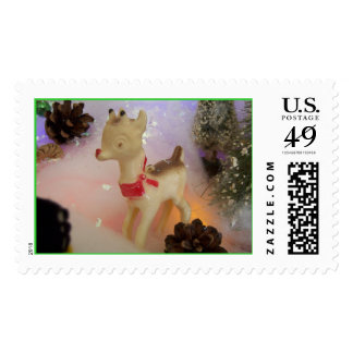 Rudolph Postage Stamp