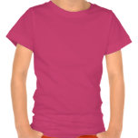 Rudolph red-nosed reindeer girly pink t-shirt