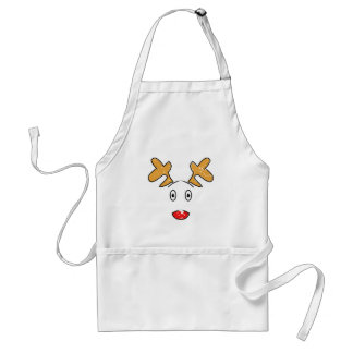 Rudolph red nosed reindeer on an Apron