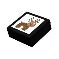 Rudolph Reindeer giftbox