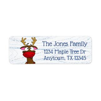 Rudolph, return address labels