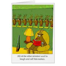 Rudolph Revenge Cards=