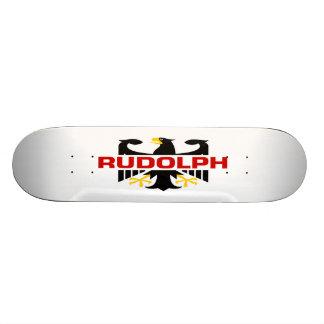 Rudolph Surname Skate Board