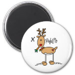 Rudolph The Red Nosed Reigndeer Magnet Magnets