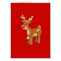 Rudolph the Red Nosed Reindeer Greeting Cards
