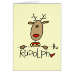 Rudolph the Reindeer T-shirts and Gifts Cards
