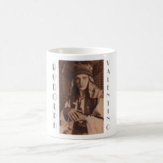 Rudolph Valentino as The Sheik Coffee Mug