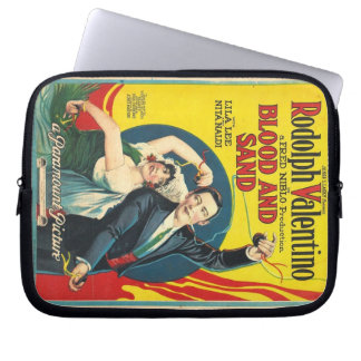 Rudolph Valentino Blood and Sand 1922 Computer Sleeves