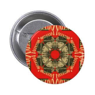 Rudolph Valentino Design 1 Pinback Button