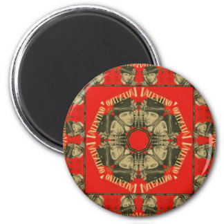 Rudolph Valentino Design 2 Magnet