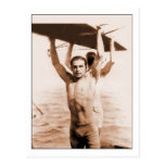 Rudolph Valentino en bañador Tarjetas Postales