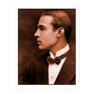Rudolph Valentino Post Cards