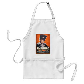 Rudolph Valentino Poster Adult Apron