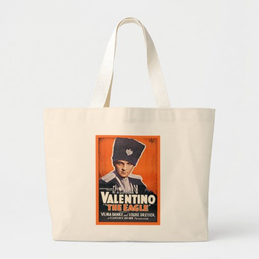 Rudolph Valentino Poster Tote Bag