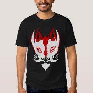 "RUDOS ""amamos la camiseta roja negra/blanca de Pur Playeras"