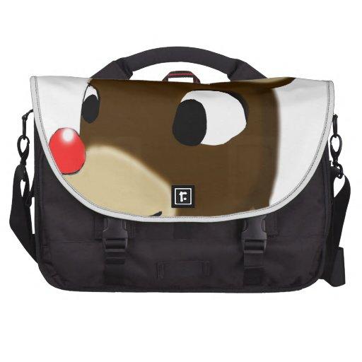 Rudulph el reno bolsas para portatil