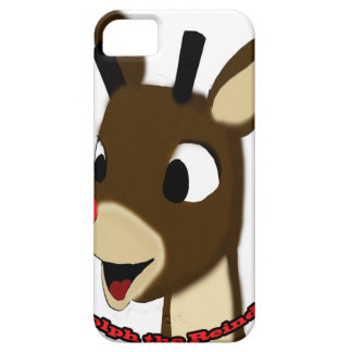 Rudulph the Reindeer iPhone 5 Covers