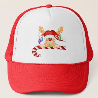 Rudy Candy Cane Trucker Hat