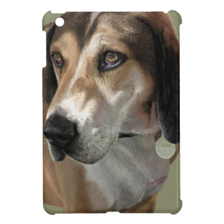 Rudy Catahula Walker hound hand painted digital iPad Mini Covers