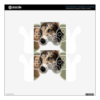 Rudy Catahula Walker hound hand painted digital PS3 Controller Decal