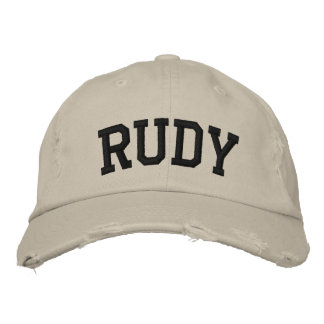 Rudy Embroidered Hat