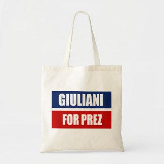 RUDY GIULIANI 2012 TOTE BAGS