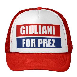 RUDY GIULIANI 2012 GORRAS DE CAMIONERO