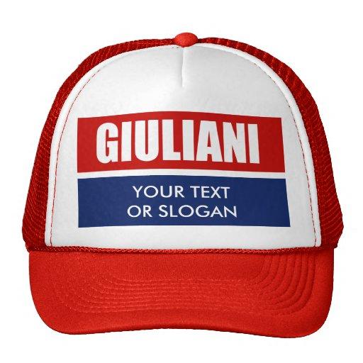 RUDY GIULIANI 2012 GORRO