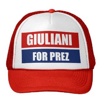 RUDY GIULIANI 2012 GORROS
