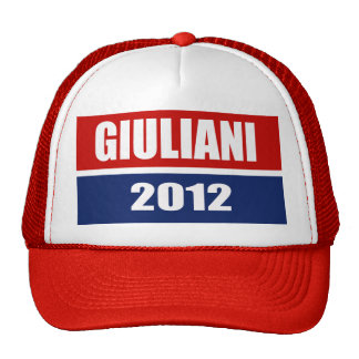 RUDY GIULIANI 2012 MESH HATS