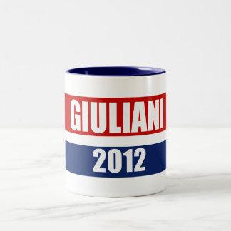 RUDY GIULIANI 2012 Two-Tone COFFEE MUG