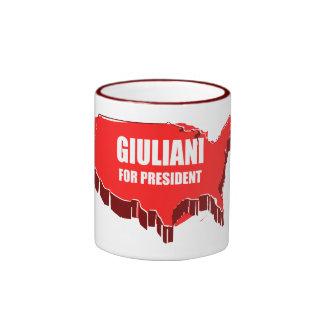 RUDY GIULIANI 2012 RINGER COFFEE MUG