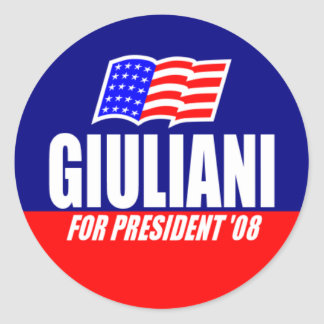 Rudy Giuliani For President 08 Stickers