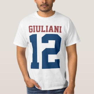 Rudy Giuliani for President 2012 (front and back) T-Shirt