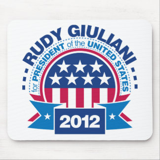 Rudy Giuliani for President 2012 Mouse Pad