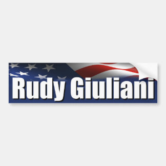 Rudy Giuliani for President Bumper Stickers