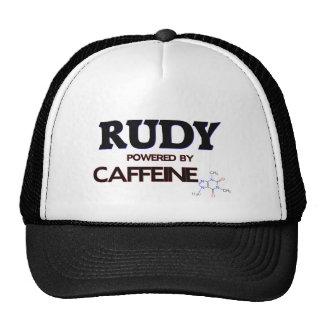 Rudy powered by caffeine hat