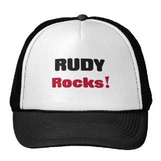Rudy Rocks Trucker Hat