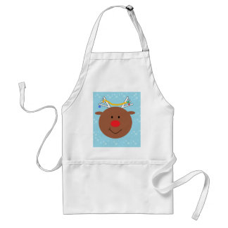 Rudy the Reindeer Adult Apron